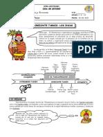 Guía de Estudio - El Horizonte Tardío - Los Incas