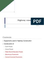 C 5-Highway Construction