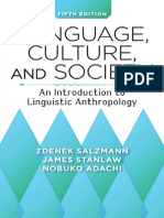 Language, Culture, And Society 5th ed