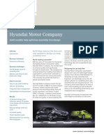 Hyundai Motor Company Solid Edge Case Study