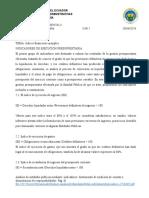 CONSULTA NRO 2 Segundo Hemisemestre Contabilidad Gubernamental II
