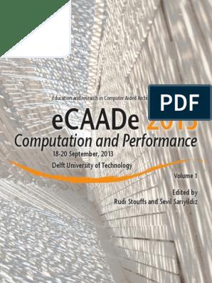 Ecaade2013 Vol 1 Lowres | Simulation | Sensitivity Analysis