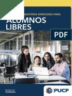 Pucp Alumnos Libres 2018 Ok