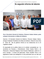 12-10-2017 Entrega Astudillo Segundo Informe de Labores a Legisladores.
