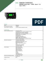 PowerLogic Série ION8800_M8800B1C0B5E0E0C