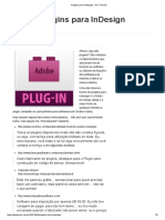 Plugins Para InDesign - GO Trainers