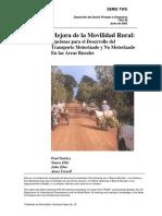 Mejora de La Movilidad Rural