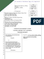 SEC vs Titanium, Declaration 5, Synchrony