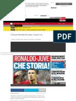 Cristiano Ronaldo Podría Fichar Por La Juventus