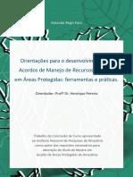 Acordos de Manejo Amanda Faro