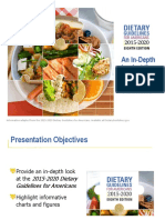 Dietary Guidelines Presentation