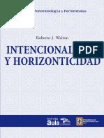Walton, R. - Intencionalidad y horizonticidad.pdf