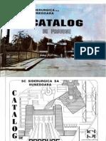 SC Siderurgica SA Hunedoara CATALOG DE PRODUSE (1994)