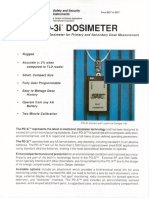 Manual for SAIC PD 2i Electronic Radiation Dosimeters