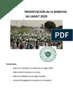 Dossier de Presentacion Jai Jagat 2020