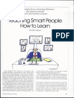 Self Help Life Skills - Argyris - Teaching smart people how to learn.pdf