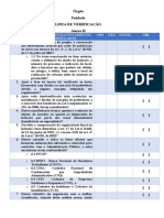 Checklist II Modelo