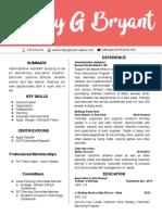 resume - lindsey bryant 7 2