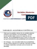 3.2 Variables Aleatorias Continuas