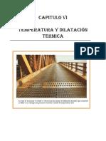 Capitulo Vi. Fisica II. Temperatura y Dilatación (2)