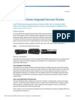 Datasheet Cisco Series 4000 ISR
