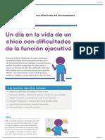 Función ejecutiva en niños | Cómo afecta la disfunción ejecutiva la vida diaria
