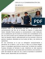 23-11-2017 Asiste Héctor Astudillo a La Conmemoración Del Día de La Armada de México.