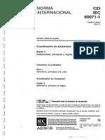 Book 1993 - IEC 60071-1 Coordinación de Aislamiento Parte 1- Definiciones, principios y reglas.pdf