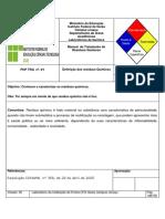 Manual de Tratamento de Resíduos de Produtos Químicos