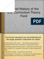 Brief Curriculum History Timeline