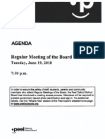 Open Session Board - June 19, 2018
