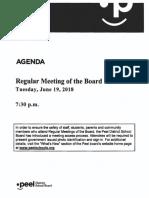 Open Session Board - June 19, 2018