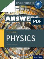 Physics - ANSWERS -