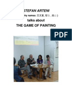 Stefan Arteni Talks About the Game of Painting