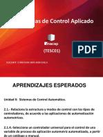 Clase 10.1 Sistemas de Control Industrial 2018