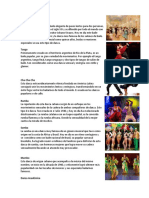 Tipos de Danza Elementos de Una Coreografia Celula Diferencia Celular