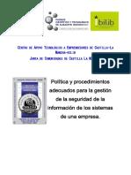 Política y Procedimientos GSI