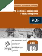 As Tendências Pedagógicas e Seus Pressupostos