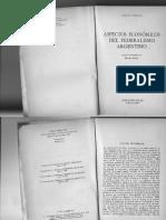 Burgin, Miron - Aspectos Economicos Del Federalismo Argentino.