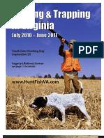 Virginia 2010-2011 Hunting & Trapping Regulations