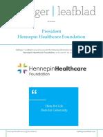 Executive Position Profile - Hennepin Healthcare Foundation - President