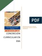 Concreción Curricular EBA- Área y Campo