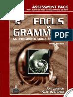 Advanced -Focus on Grammar 5