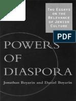 Jonathan Boyarin, Daniel Boyarin-Powers of Diaspora_ Two Essays on the Relevance of Jewish Culture-Univ of Minnesota Press (2002)