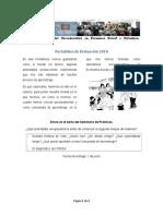 Portafolios de Evaluación 2018 - Seminario de Practicas