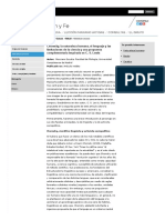 Chomsky, la naturaleza humana, el lenguaje y las limitaciones de la ciencia y una propuesta complementaria inspirada en C. S. Lewis. Grupo Ciencia, Razón y Fe (CRYF). Universidad de Navarra