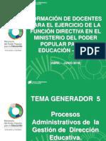 Presentacion Formacion Docentes Funciones Directivas 28.04.2016
