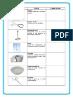 Common Laboratory Tools
