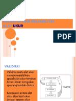 validitas dan reliabilitas PENILAIAN PEMBELAJARAN FISIKA S2.ppt