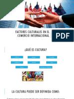Factores Culturales en El Comercio Internacional